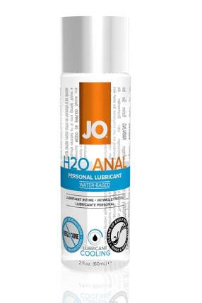 Анальный охлаждающий лубрикант JO с обезболиванием Anal H2O Cool, 60 мл