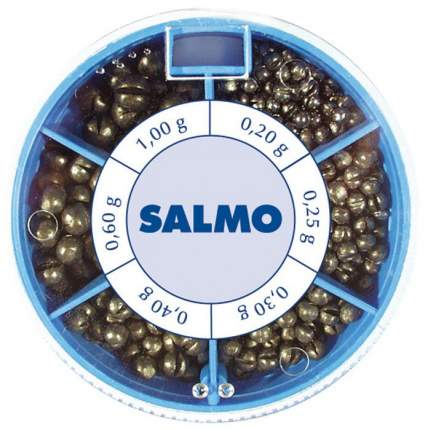Грузила Salmo дробинка PL 6 секций стандартные 50 г набор / 1007-ST50