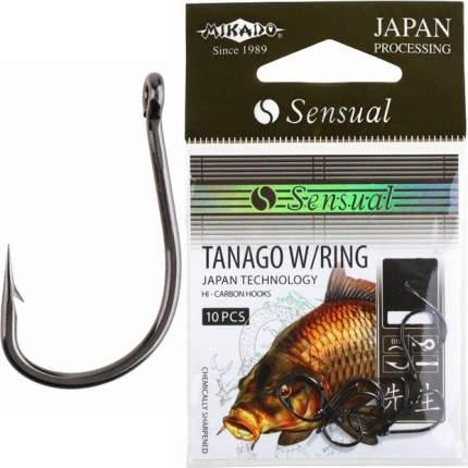 Рыболовные крючки Mikado Sensual Tanago W/Ring №8, 10 шт.
