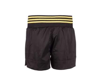 Шорты Adidas Thai Boxing Short Micro Diamond, black/yellow, L INT