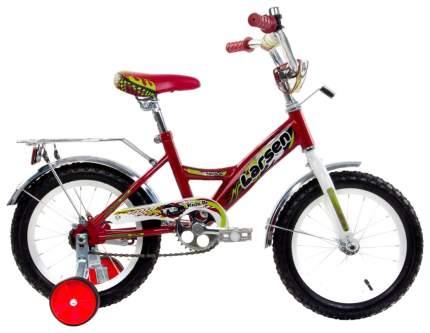 Велосипед Larsen Kids 14 2016 Красный