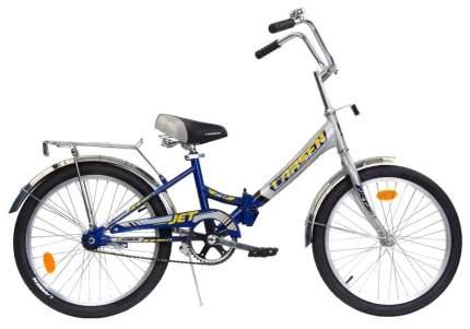 Велосипед Larsen Jet 20 2016 Серый/Синий