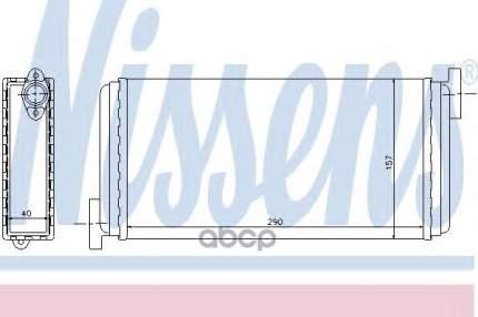 Радиатор печки Nissens 72002
