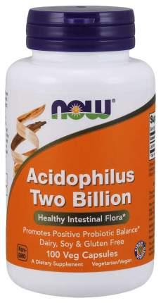 Для пищеварения NOW Acidophilus Two Billion 100 капсул