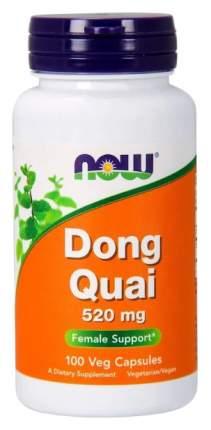 Дудник китайский NOW Dong Quai 520 мг 100 капсул