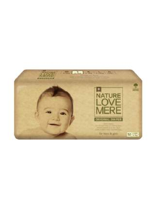 Подгузники Nature love mere original basic diaper s 4-7 кг, 52 шт.