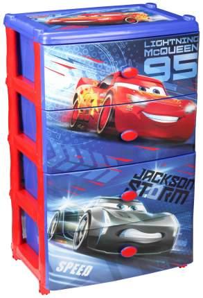 Комод детский Disney Тачки-3 6392М 4 ящика
