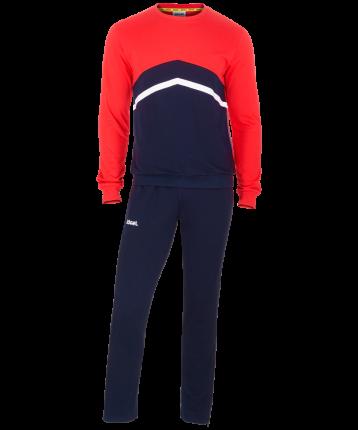 Спортивный костюм Jogel JCS-4201-921, темно-синий/красный/белый, L INT