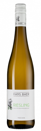 Вино Hans Baer Riesling, 2018 г.