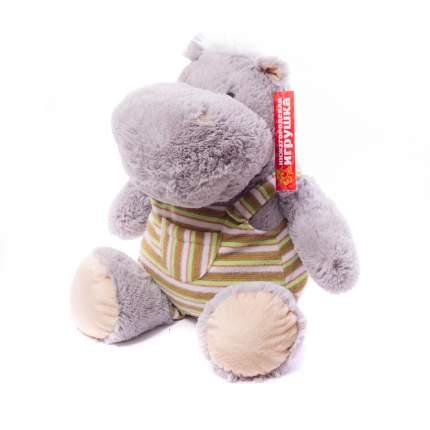 Мягкая игрушка Бегемот в одежде малый 45 см Нижегородская игрушка См-727-5