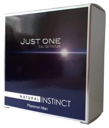 Мужская парфюмерная вода с феромонами Парфюм престиж Natural Instinct Just One 100 мл