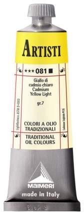 Масляная краска Maimeri Artisti кадмий желтый светлый 40 мл