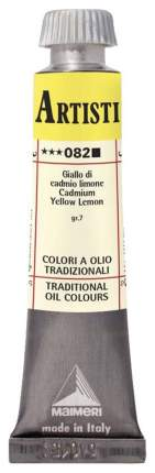 Масляная краска Maimeri Artisti M0102082 кадмий желтый лимонный 20 мл