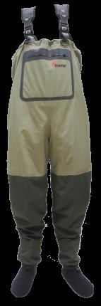 Вейдерсы Tramp Angler, олива, L INT, 43 RU