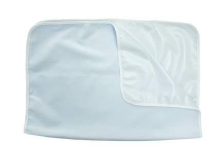 Пеленка непромокаемая для пеленального столика теплая из велюра, 75х75см