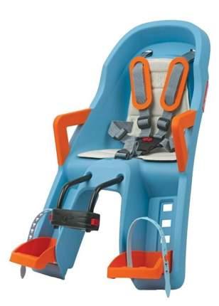 Велокресло детское Polisport Guppy Mini FF , Blue/Orange,креп.на рулевую трубу