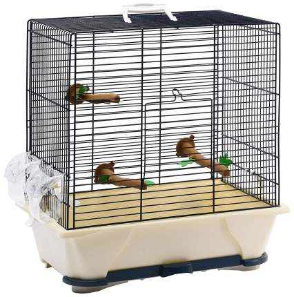 Клетка для птиц Savic Primo 30, синяя, 45 х 41,5 х 25 см