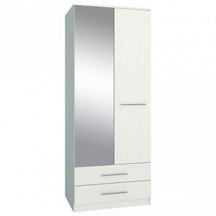 Платяной шкаф MFMaster MAS_MST-SHRL-23-R-16BEL 55х81,6х200, белый