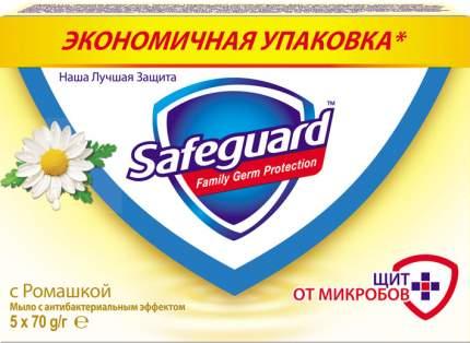 Антибактериальное мыло Safeguard Ромашка 5 х 70 г