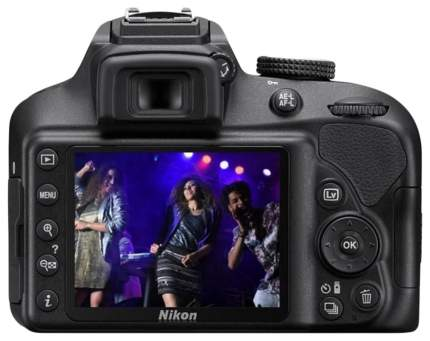 Фотоаппарат зеркальный Nikon D3300 18-55mm VR AF-P Black