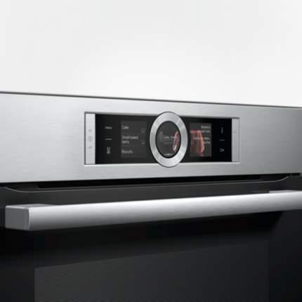 Встраиваемый электрический духовой шкаф Bosch HBG636LS1 Silver