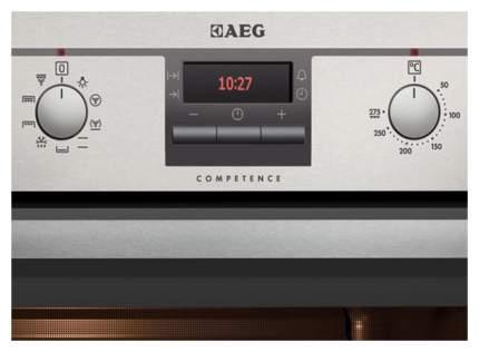Встраиваемый электрический духовой шкаф AEG BE3013021M Silver