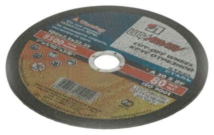 Отрезной диск по металлу для угловых шлифмашин ЛУГА 3612-180-2,5
