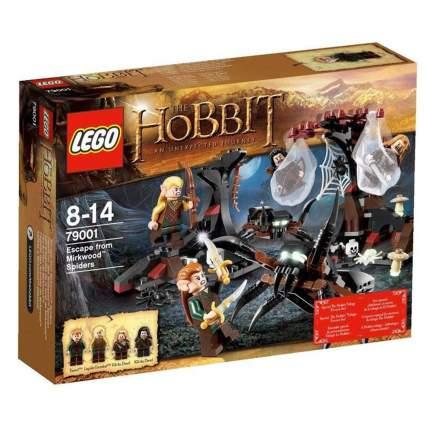 Конструктор LEGO Lord of the Rings and Hobbit Бегство от гигантских пауков (79001)