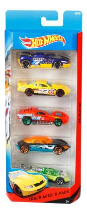 Набор пластиковых машинок Hot Wheels Track Aces 1806 CDT20