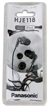Наушники Panasonic RP-HJE118GUK Black