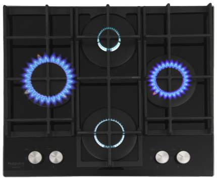 Встраиваемая варочная панель газовая Hotpoint-Ariston 641 TQG /HA(BK) Black