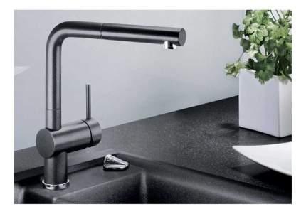Смеситель для кухонной мойки Blanco LINUS-S 516688 антрацит