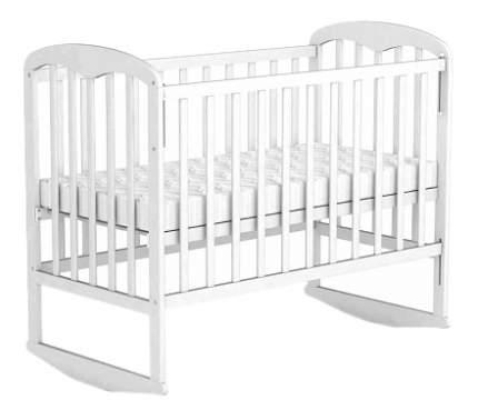 Кровать-качалка детская Фея 323 Белая
