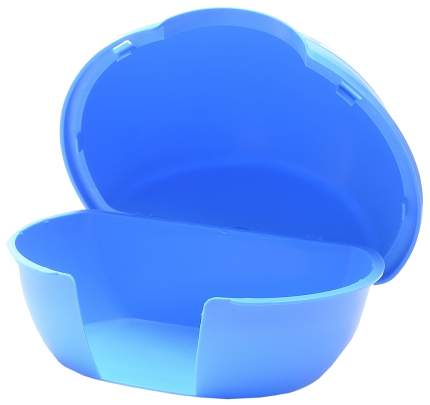 Домик для грызуна Savic пластик, 5х11х12см, цвет в ассортименте