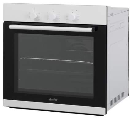 Встраиваемый электрический духовой шкаф Simfer B6EW16011 Белый