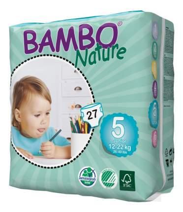 Подгузники Bambo Nature Junior 5 (12-22 кг), 27 шт.