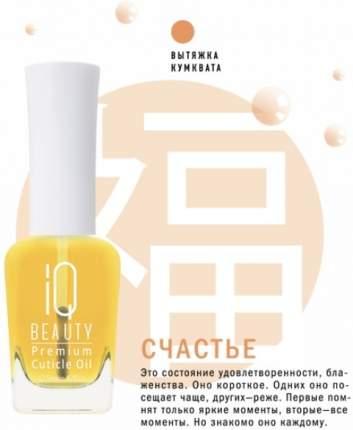 Масло для ногтей IQ Beauty Premium Cuticle Oil Обогащённое масло для кутикулы 12,5 мл