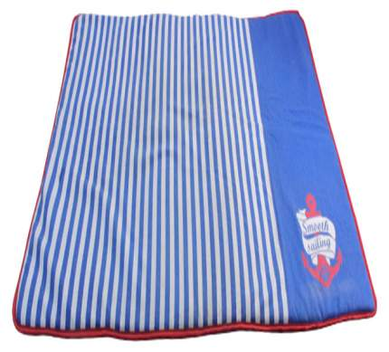Коврик для собак Triol Nautica текстиль, синий, 100x70 см