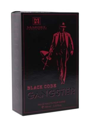 Туалетная вода Marsel Parfumeur Gangster Black Code 100 мл