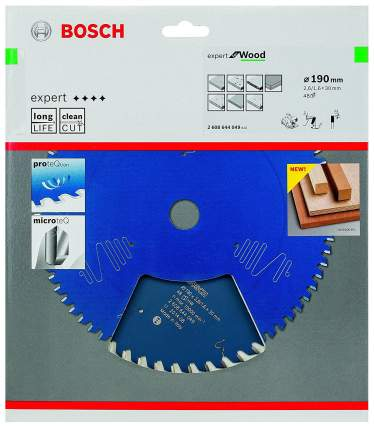 Пильный диск по дереву Bosch EXP WO 190x30-48T 2608644049