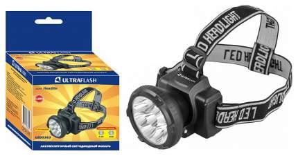 Туристический фонарь Camelion Ultraflash LED5363 черный, 2 режима