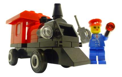 Конструктор пластиковый Brick Минипоезд
