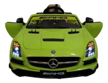 Электромобиль Mercedes-Benz SLS зеленый RIVERTOYS SLS A333AA VIP