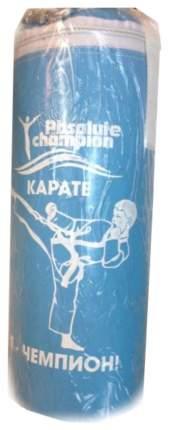 Боксерская груша Absolute Champion Я чемпион карате бело-голубая