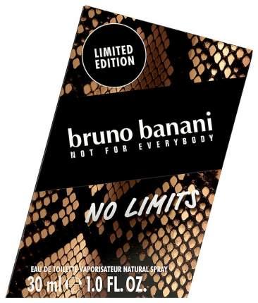 Туалетная вода Bruno Banani No Limits Man 30 мл