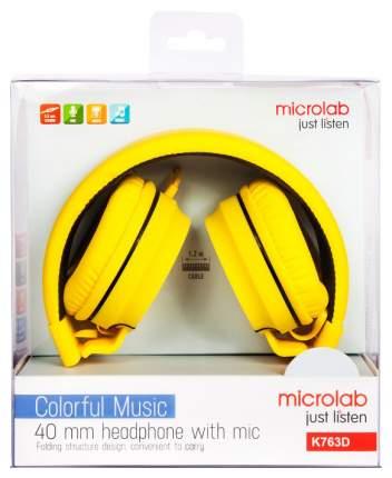 Наушники Microlab K763D Yellow