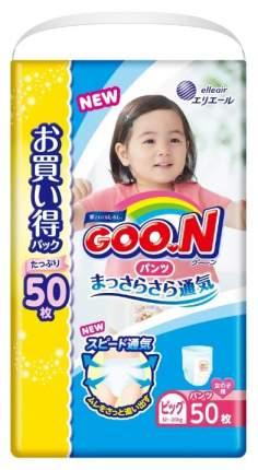 Подгузники-трусики New Goon для девочек, Xl (12-20 Кг) 50 шт.