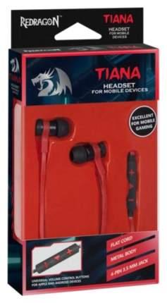 Игровые наушники Redragon Tiana Black/Red