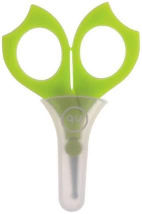 Ножницы детские для ногтей с колпачком Happy Baby Baby Scissors Lime 17004