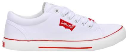 Кеды Levi's Kids white 34 размер